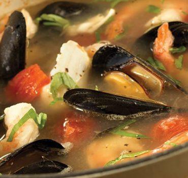 Zuppa alla Peescatore Fish Soup